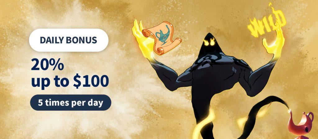 jet10 daily slots bonus