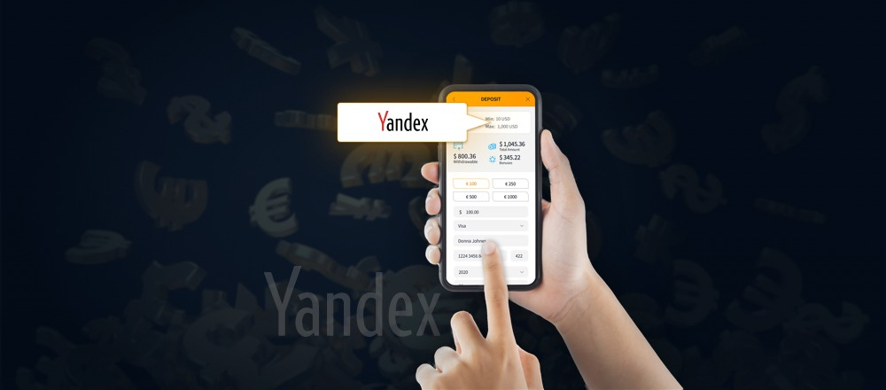 How to Deposit with Yandex Money on Jet10?
