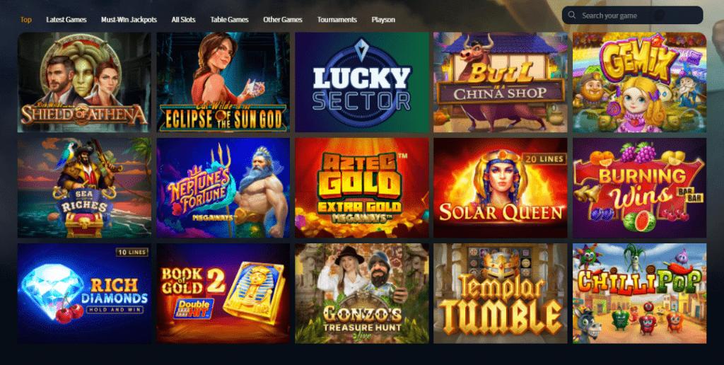 slot games online casino